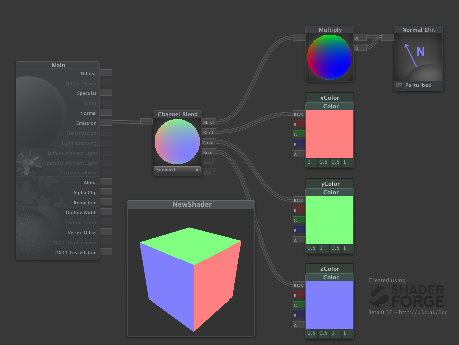 RELEASE] Shader Forge - A node-based shader editor for Unity - Page